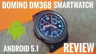 "DM368 3G Smartwatch ⌚REVIEW - 1.39"" Amoled Screen, Android 5.1 - Cool China Watch!"