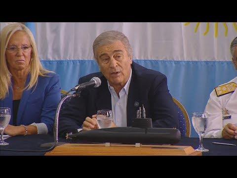 "Oscar Aguad: ""No tenemos medios para extraer al submarino"""