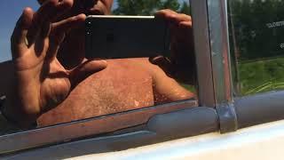 УАЗ буханка 2010. Ремонт двери и тонировка стекол