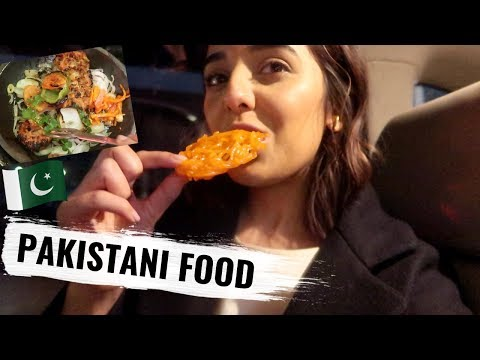 TRYING DELICIOUS PAKISTANI FOOD | VLOG