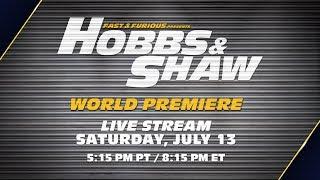 FULL Hobbs & Shaw World Premiere