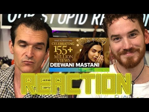 Deewani Mastani Song   Bajirao Mastani REACTION!!