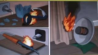 видео Профилактика пожаров: использование отопительных приборов