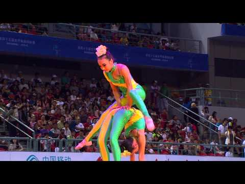 2014 Artistic Worlds, Nanning (CHN) - Enjoy the Opening Ceremony ! - We are Gymnastics !