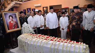 Presiden Jokowi Melayat ke Rumah Duka Almarhumah Ibu Ani Yudhoyono, Bogor, 1 Juni 2019