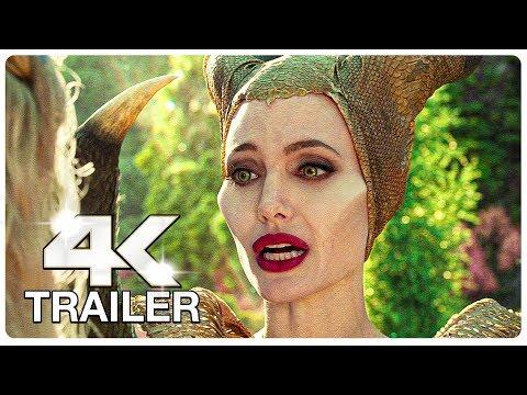 MALEFICENT 2 MISTRESS OF EVIL : 4 Minute Trailers (4K ULTRA HD) NEW 2019
