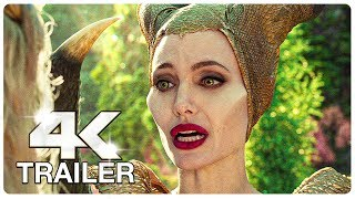 MALEFICENT 2 MISTRESS OF EVIL : 4 Minute Trailers (4K ULTRA HD) NEW 2019