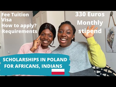 SCHOLARSHIP IN POLAND FOR AFRICANS, INDIANS AND MORE