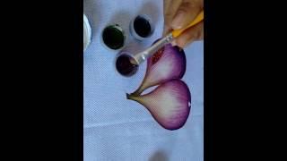 Como pintar figos