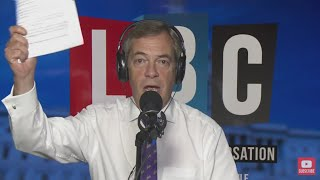 The Nigel Farage Show On Sunday: Was Hammond right to call the E.U the enemy? 2/2 LBC -15th Oct 2017