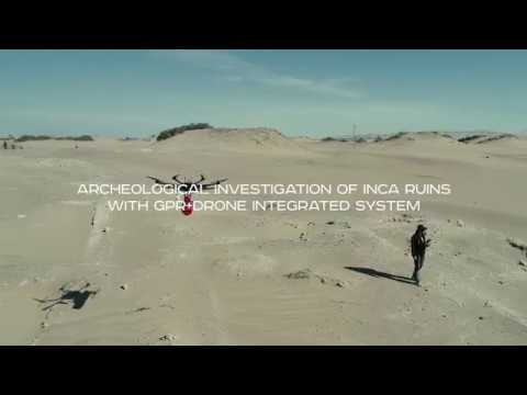 Ground Penetrating Radar (GPR)+drone integrated system - Archaeological  investigation of Inca ruins