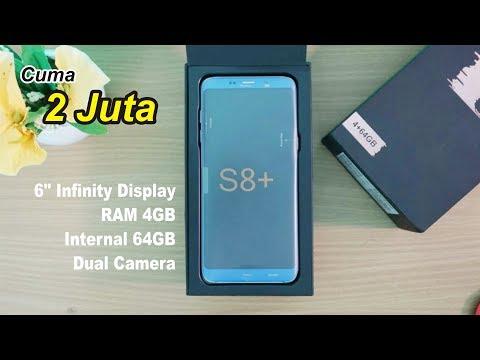 S8+ TERMURAH cuma 2juta | Ram 4GB + Internal 64 GB | Unboxing Bluboo S8+ Indonesia