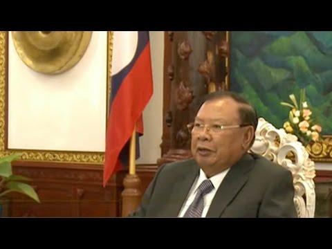 Lao president hails Belt and Road Initiative achievements