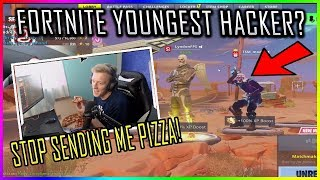 TFUE WANTS HIS VIEWERS TO STOP SENDING HIM PIZZA TO HIS HOUSE!! - Fortnite funny & Savage moments
