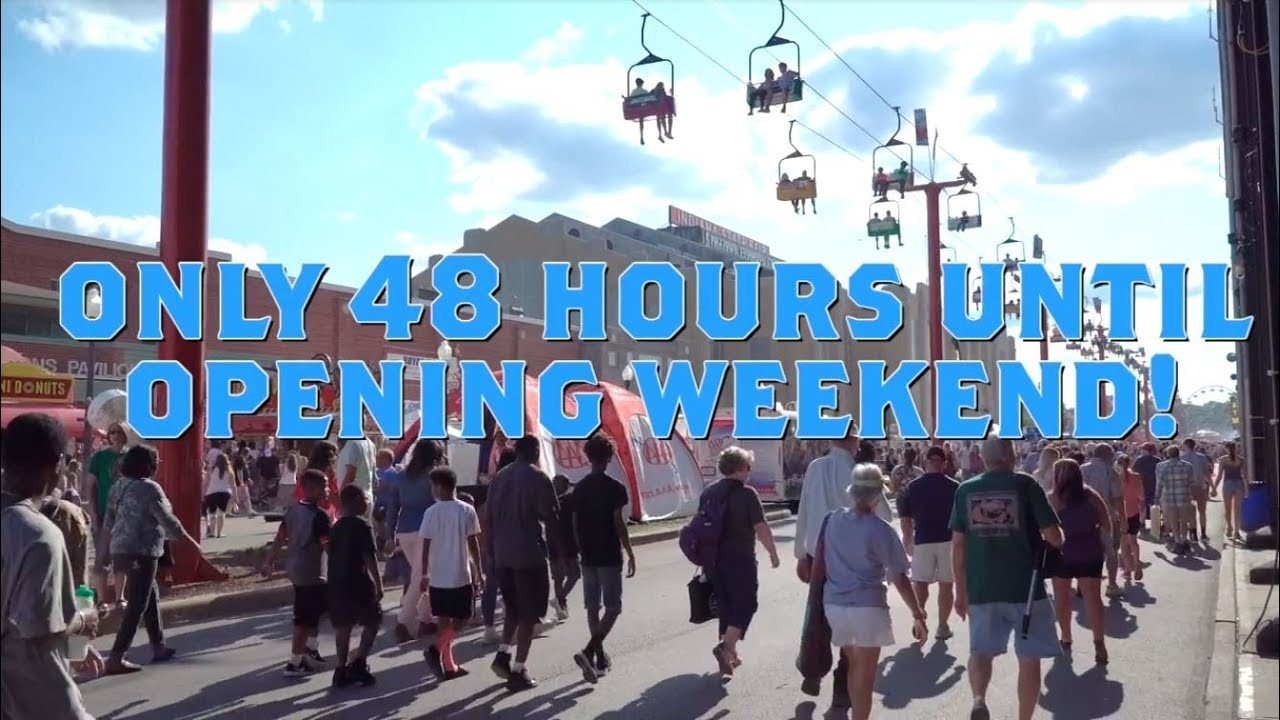 2019 Indiana State Fair Opening Weekend!