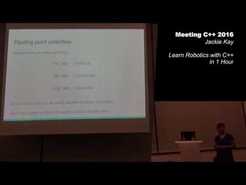Learn Robotics with C++ in 1 Hour - Jackie Kay - Meeting C++ 2016