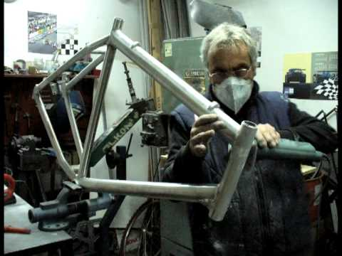 Fabricación cuadro Bicicleta - YouTube