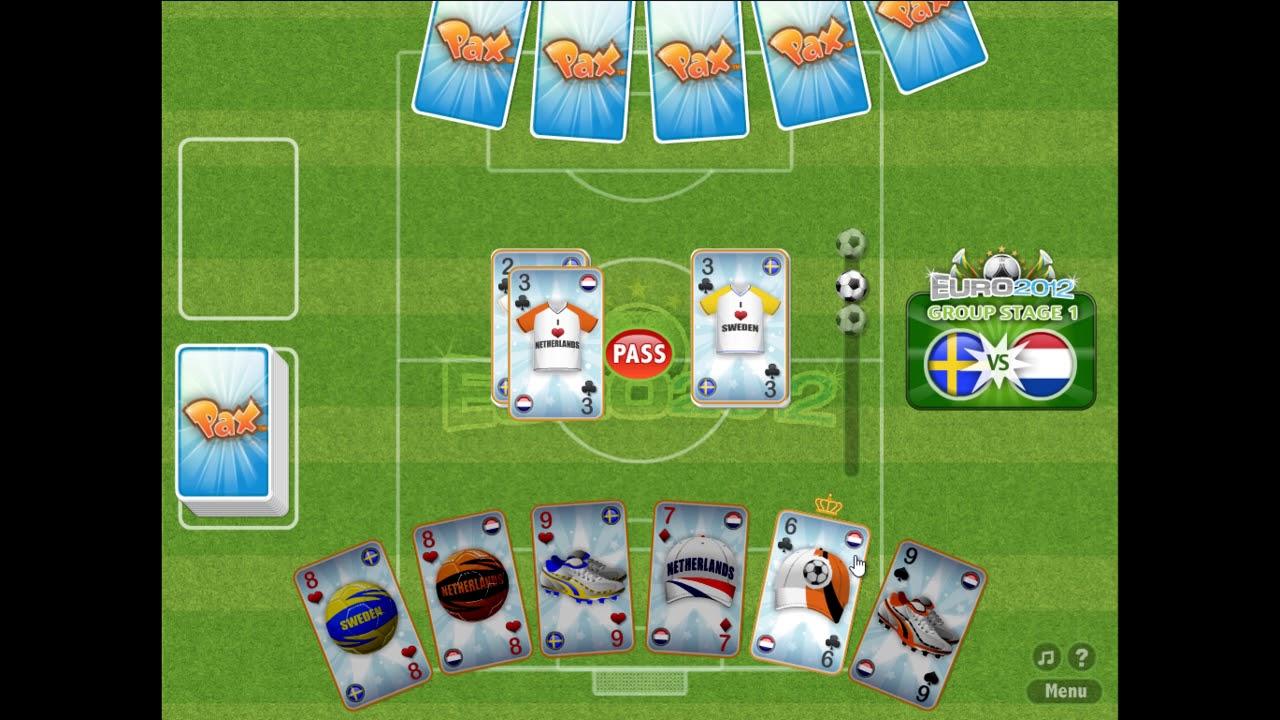 с как футбол играть картами в