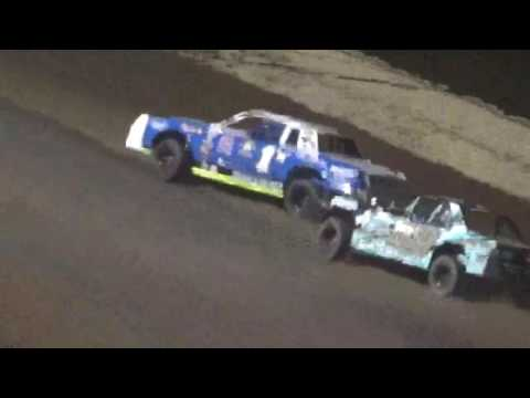 IMCA Stock Car Feature Shawano Speedway Shawano Wisconsin 5/13/17