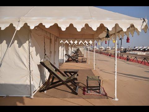 View of Tents During Rann Utsav 2017 - 2018  Kutch Rann Utsav Package - YouTube & View of Tents During Rann Utsav 2017 - 2018  Kutch Rann Utsav ...