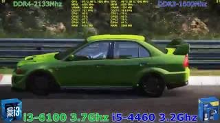 i3 6100 vs i5 4460 + GTX970 OC 2560 x 1440 in 9 Games