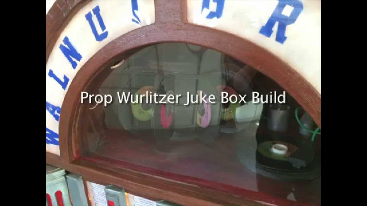 crazy eric project episode 5 wurlitzer jukebox prop replica youtube. Black Bedroom Furniture Sets. Home Design Ideas
