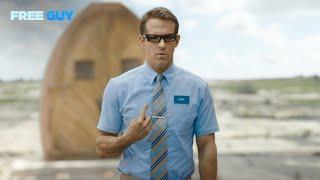 Free Guy | Ryan Reynolds is Blue Shirt Guy
