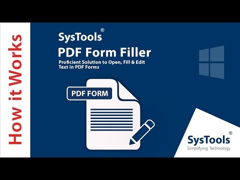 How to save a fillable PDF form   The Easy Method