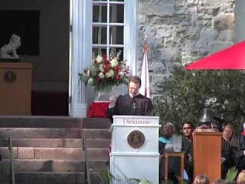 William Nelligan '14 Convocation Speech Clip