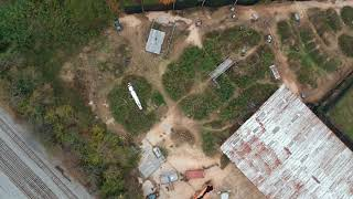 Power Ops Airsoft Field DRONE Aerial View (4/5)