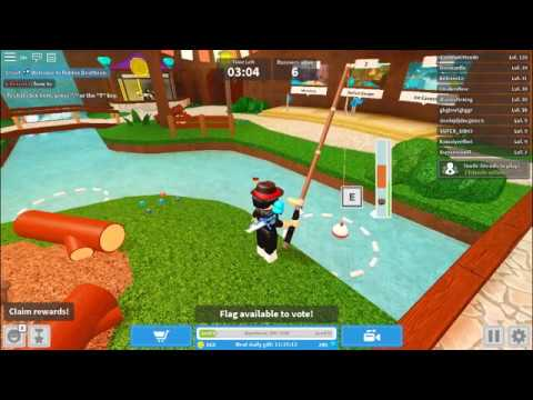 Roblox Deathrun How To Catch A Fish Youtube