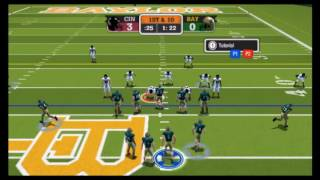 NCAA Football 09 Cincinnati vs Baylor Part 1