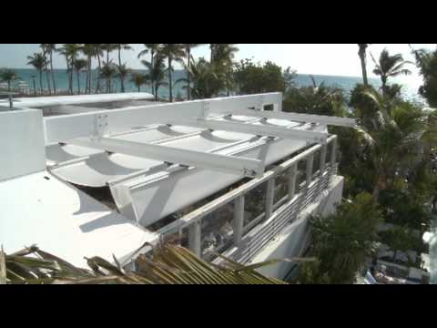 En Fold Retractable Fabric Roof Youtube