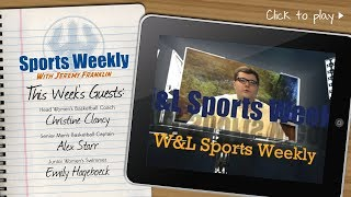 W&L Sports Weekly for January 16, 2019