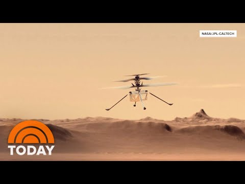 NASA Set To Launch Helicopter Ingenuity On Mars | TODAY