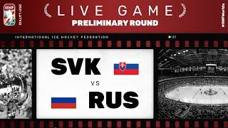 Slovakia – Russia | Live | Group A | 2021 IIHF Ice Hockey World Championship