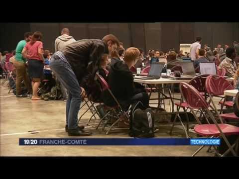 Reportage France 3 Bourgogne Franche-Comté - Journal 19/20 du 23/05/2017 - Crunch Time 2017
