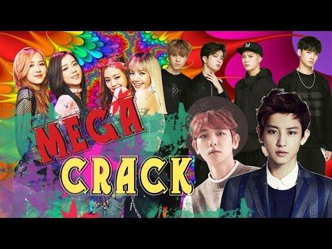[ENG SUB]Mega Crack BTS EXO GOT7 BlackPink in chatroulette |в видеочате|