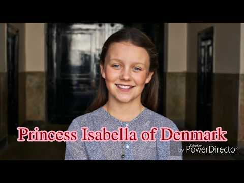 Princess Isabella of Denmark celebrates her 12th birthday!👸🏻🇩🇰❤️🎉👑 One year with her...