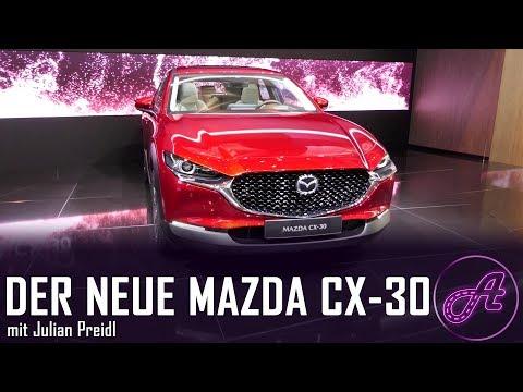 Mazda CX 30 Premiere │ Review │ Vorstellung │ deutsch │ First impression │ Erster Eindruck