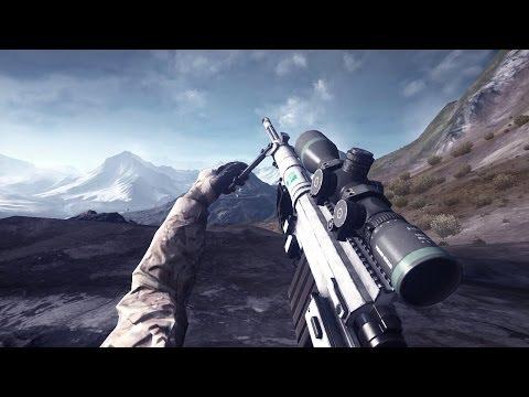 BF4: Altai Range Long Range Sniping Montage +500m (SRR-61)