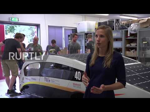 Netherlands: Solar-powered family car unveiled by Eindhoven University