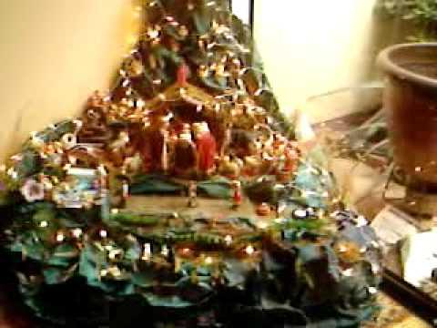 Ense ando los arreglos de navidad youtube for Arreglo para puertas de navidad