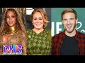 Adele REJECTED Performing With Beyonce - PewDiePie DROPPED By Disney & YouTube (DHR)