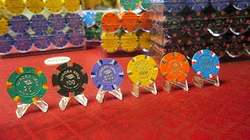 Poker Chip Video 07 Aurora Star Tournament Hot Stamp