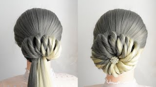 New Bun Hairstyle With Donut Easy Hairstyles For Long Hair Simple Hairstyle For Wedding