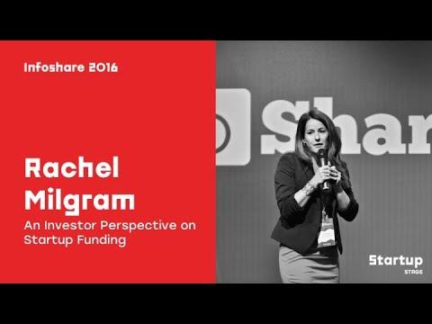 Rachel Milgram (InnovIL) - An Investor Perspective on Startup Funding / infoShare 2016