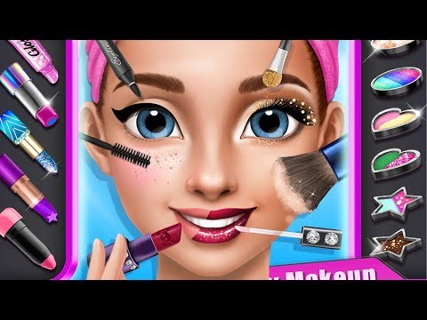 Hannah's First Crush Teen Fashion City Makeup, Dress Up, Nail Salon Makeover Game For Kids & Girls