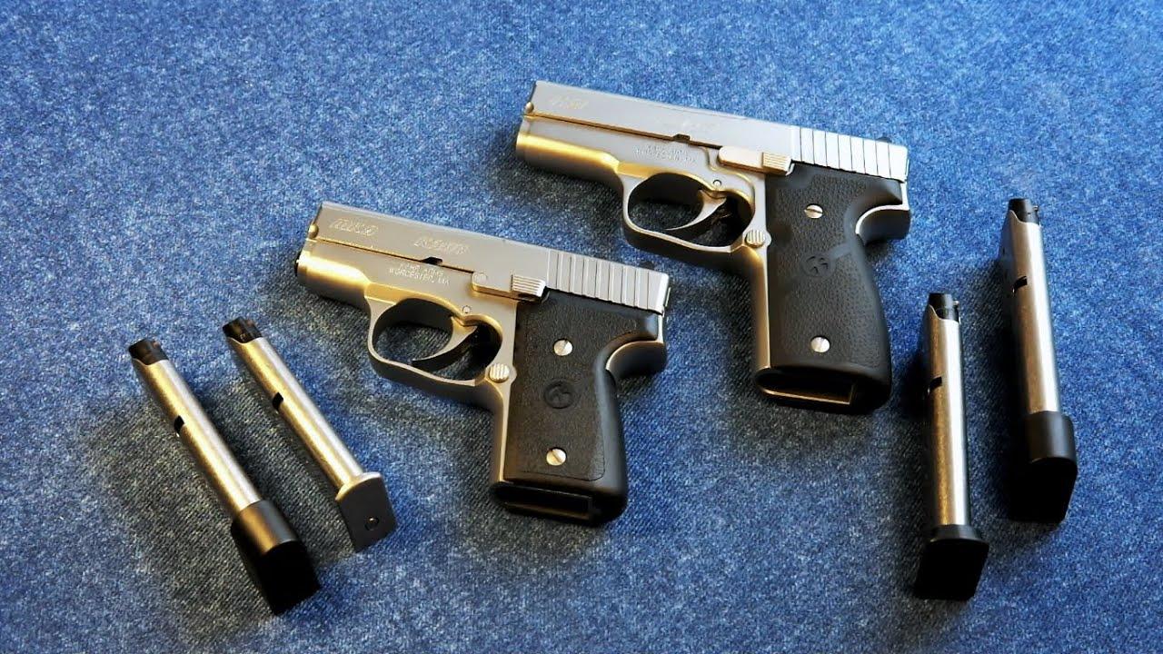 Kahr Pistol Size Comparison - K9 / MK9 (P9 / PM9 & CW9 / CM9)