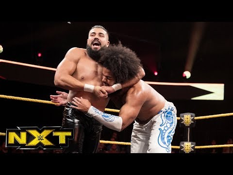 "No Way Jose vs. Andrade ""Cien"" Almas: WWE NXT, Aug. 9, 2017"